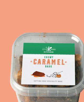 Chewy Caramel Bark