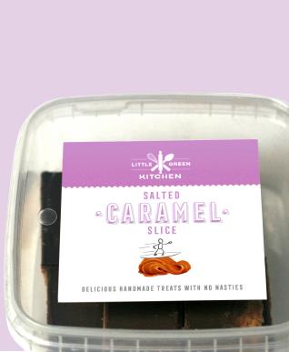 Salted Caramel Slice