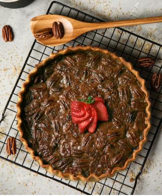 Salted Pecan Pie