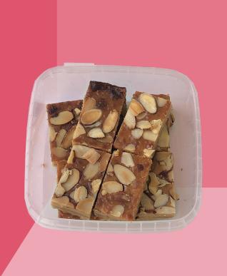 Roasted Almond Slice